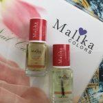 Oje si ingrijirea unghiilor cu Malika Colors