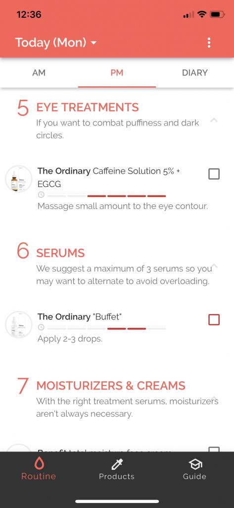 Skincare app